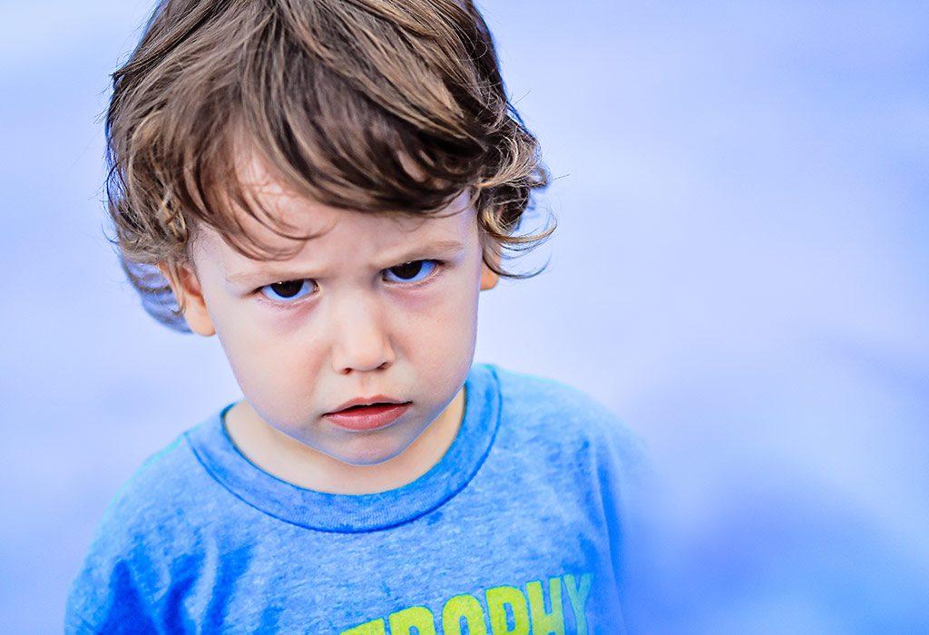 Child's Anger