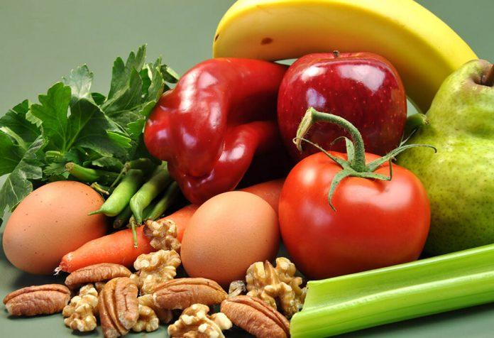 تناول الطعام الصحي والمغذي