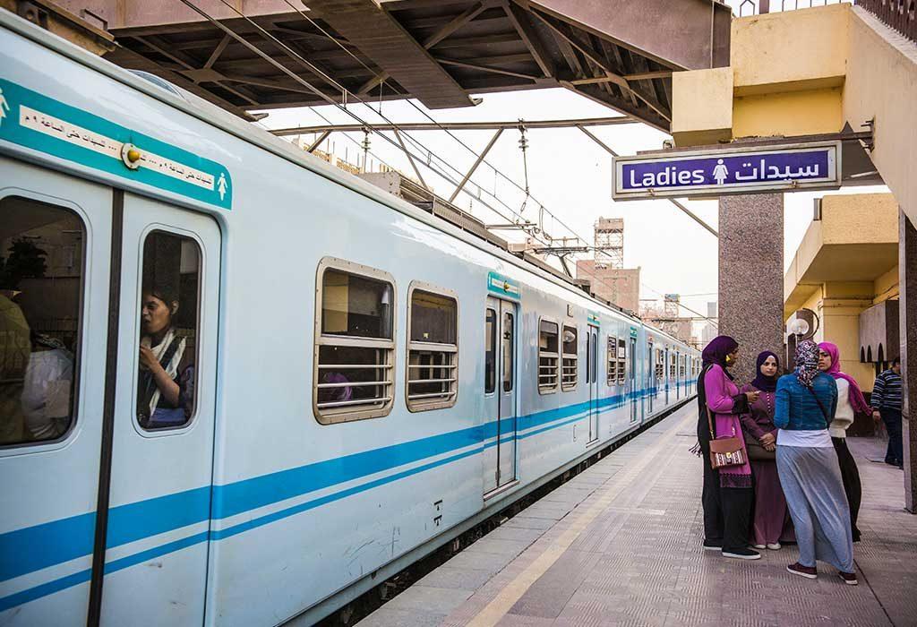 السفر بالقطار أثناء الحمل