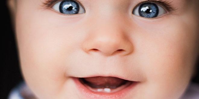الترتيب الذي يظهر به أسنان الرضيع