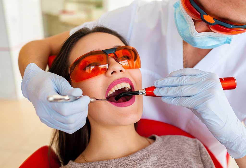 هل يمكنك الحصول على تبييض أسنانك أثناء الحمل