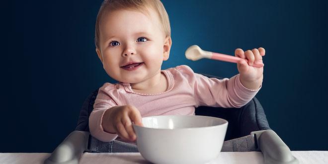 ما هي كمية الطعام الذي يجب أن يأكله الطفل في هذه المرحلة؟