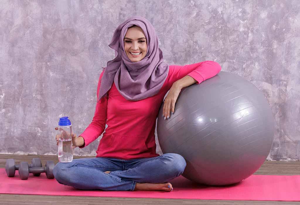 ممارسة التمرينات الرياضية