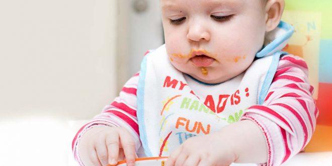 أفكار لوجبات صحية لطفلك بعمر 9 أشهر