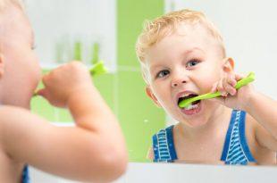 كيفية تعليم الطفل طريقة استخدام فرشاة الأسنان