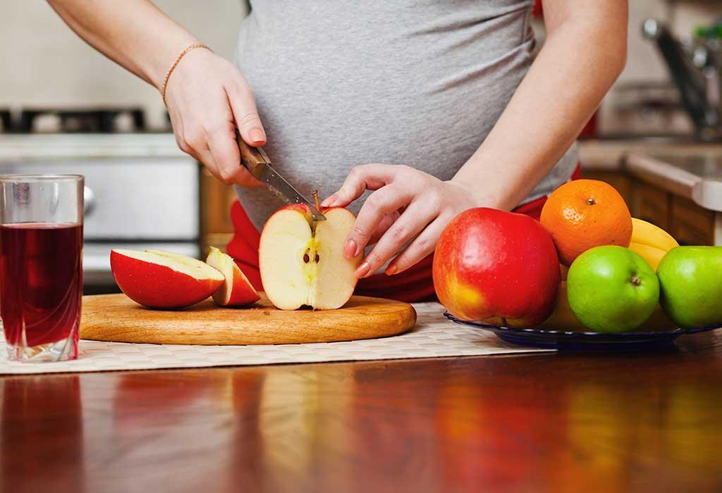 الحمية الغذائية خلال الثلث الثاني