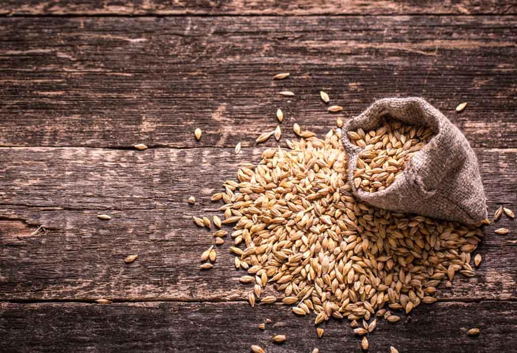 اختبار الحمل بالقمح والشعير