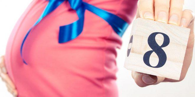 الشهر الثامن من الحمل - الأعراض وتغيرات الجسم وتطور الجنين