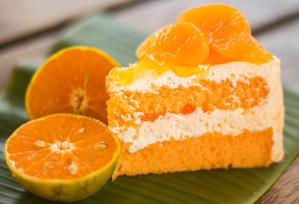 كيكة البرتقال الرائعة