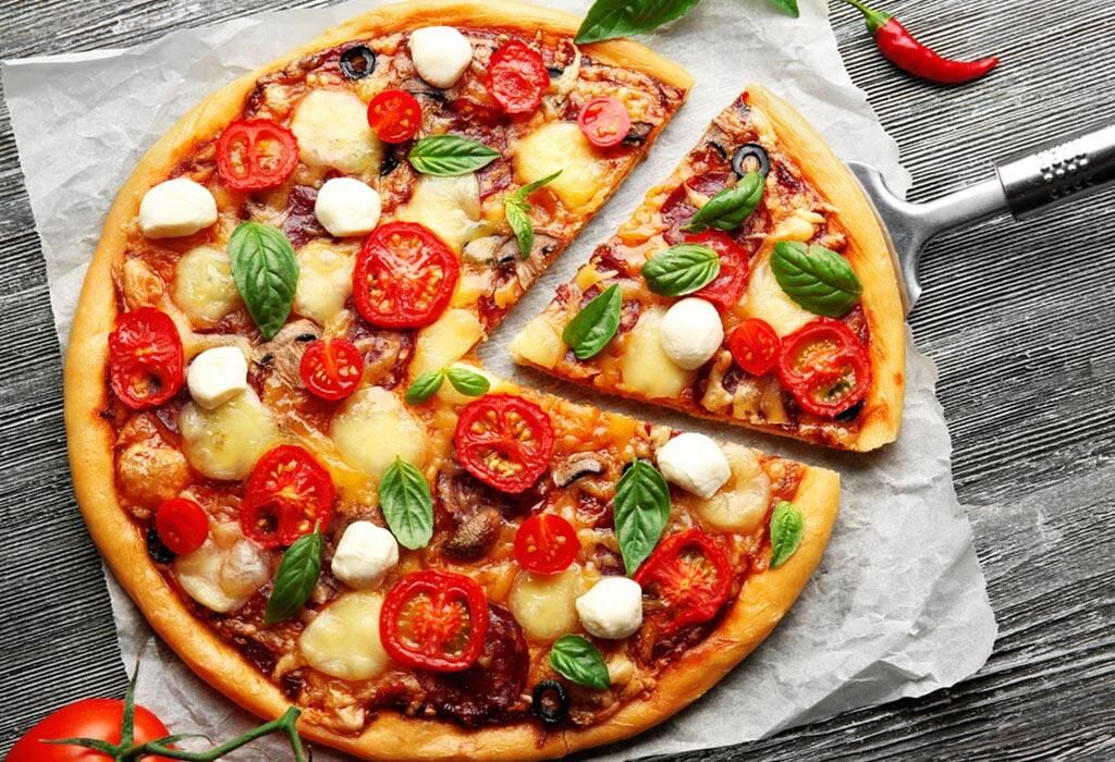 وصفات بيتزا سهلة للأطفال