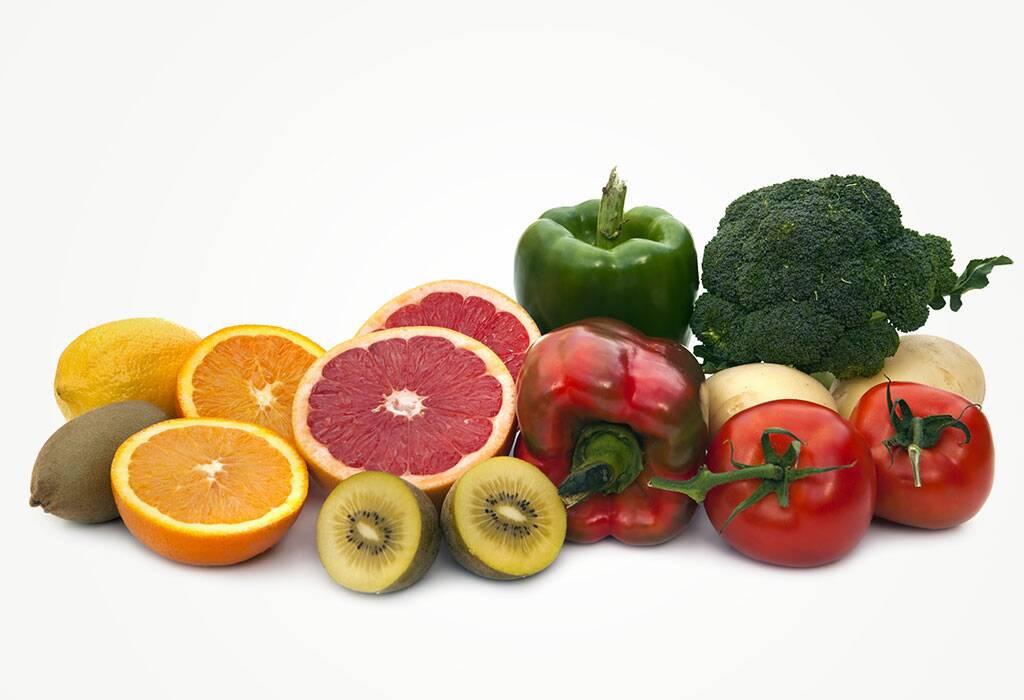 الأطعمة الغنية بفيتامين سي