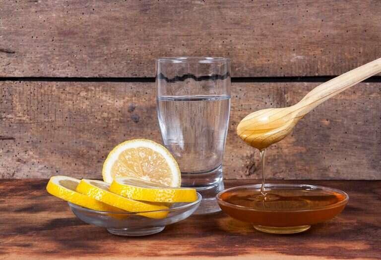 عصير الليمون بالعسل