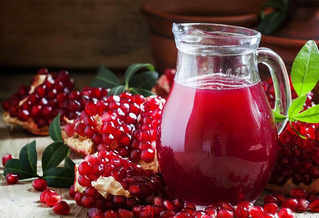 فوائد تناول عصير الرمان