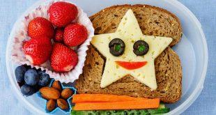 10 وصفات مميزة لصندوق الغداء للأطفال