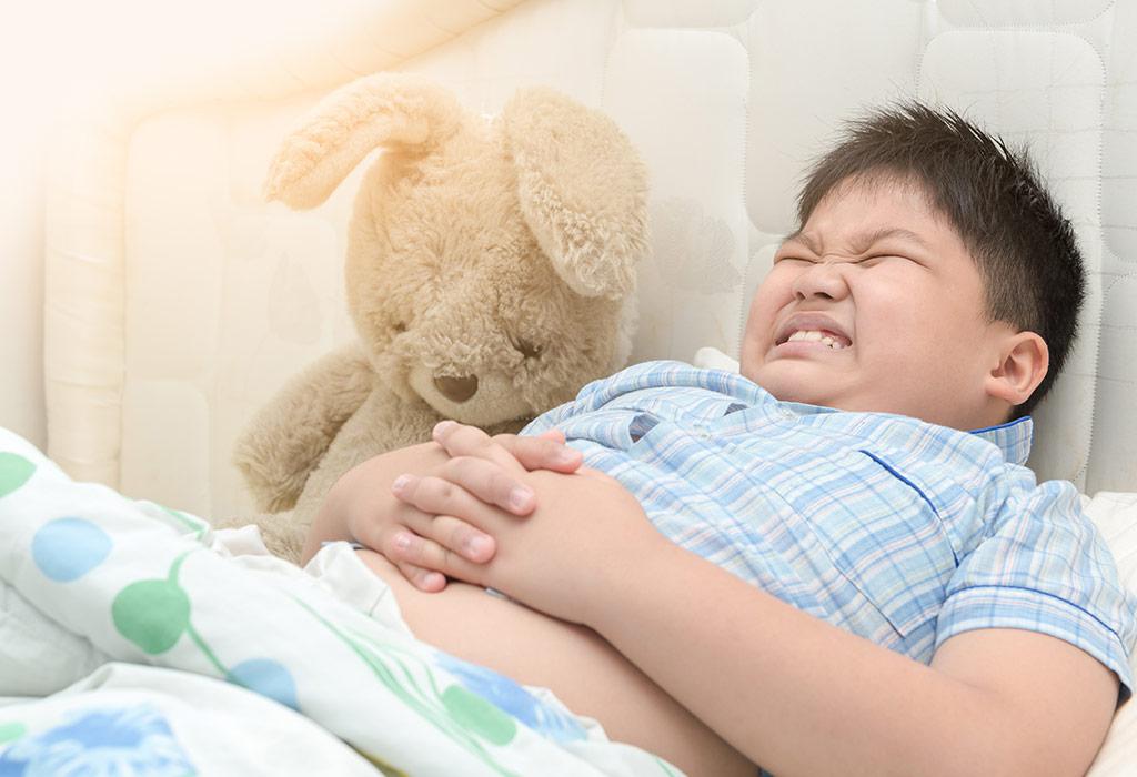 أعراض الإسهال عند الأطفال
