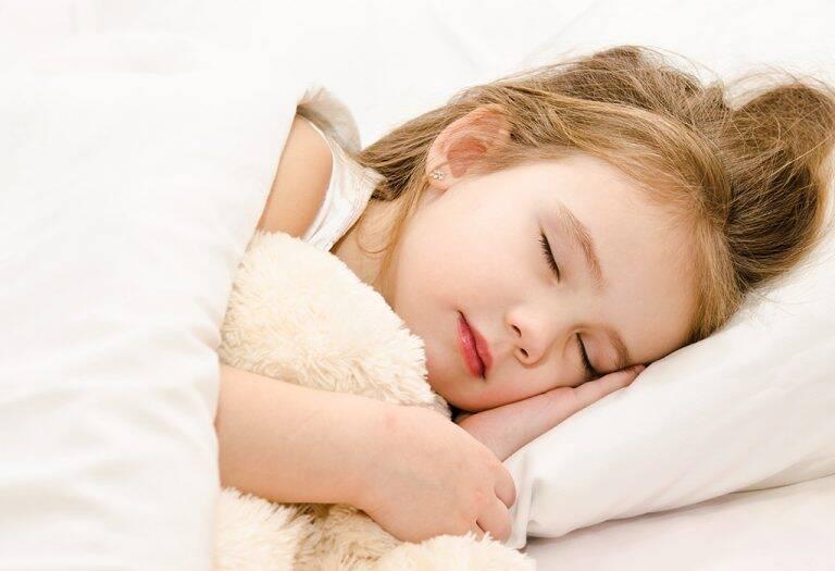 نظافة النوم للأطفال