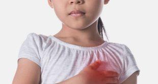 آلام الصدر عند الأطفال