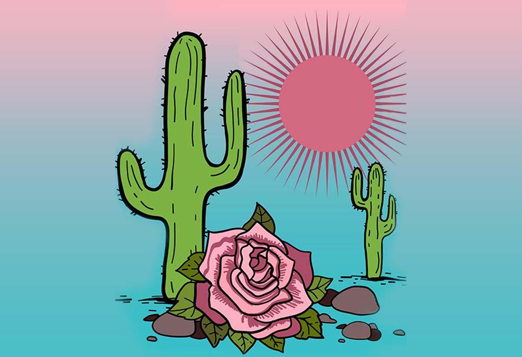 الوردة المغرورة