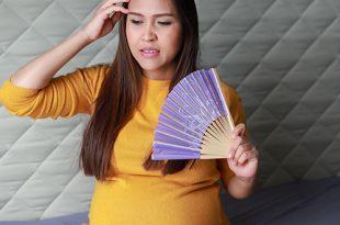 الهبات الساخنة أثناء الحمل