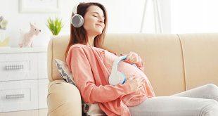 الاستماع للموسيقى أثناء الحمل