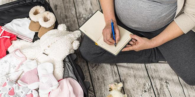 تحضير حقيبة المستشفى للولادة القيصرية