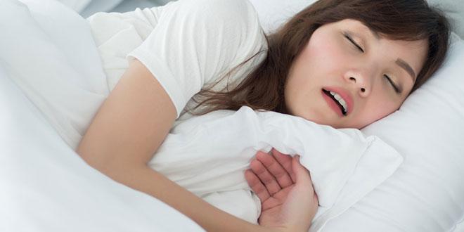مشاكل النوم - الشخير أثناء الحمل