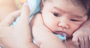 البصق عند الأطفال الرضع